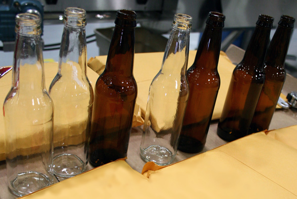 soda bottle samples