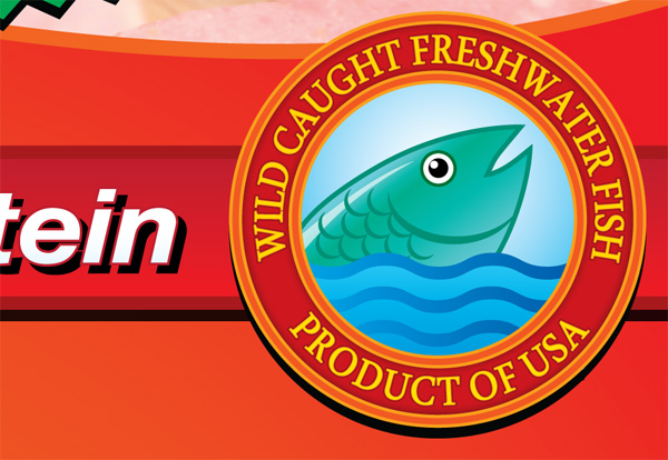 Fish Salami Wild Caught Decal